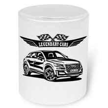 Audi Q2 (GA) Version 2 -  Moneybox / Spardose mit Aufdruck