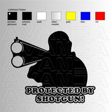 Protected by shotgun!