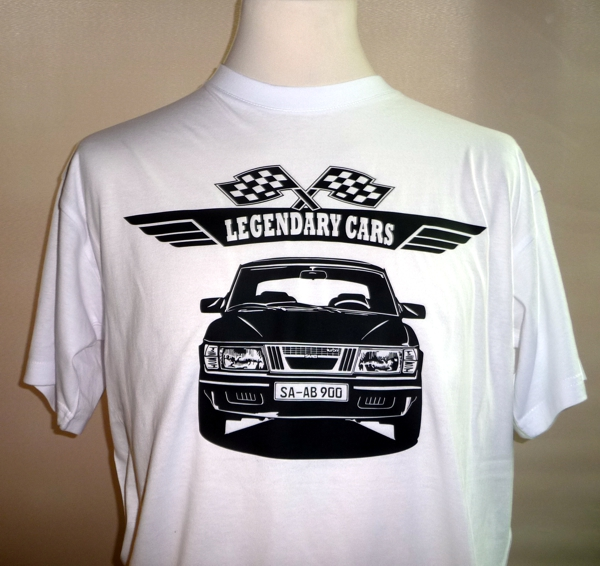 T-Shirt Saab 900 Youngtimer