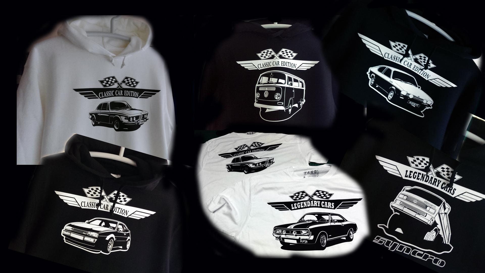 T-Shirts und Kapuzenpullis mit Youngtimer und Oldtimer